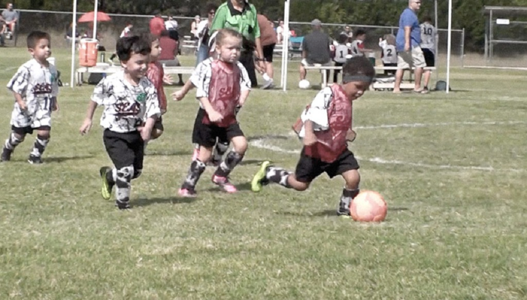 Video preview of Ethan playing soccer on a sunny day.